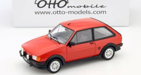 OTTO オットー OTM653 1/18 フォード フィエスタ Mk2 XR2(サンバーストレッド)