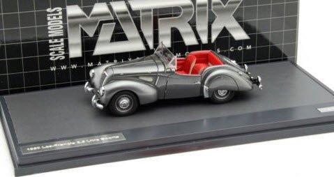 MATRIX MX41205-021 1/43 リー・フランシス 2.5L スポーツ 1949 メタリックチャコール