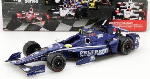GREENLIGHT 10995 1/18 シボレー#21 インディカー シリーズ Ed Carpenter Racing 2016 Josef Newgarden