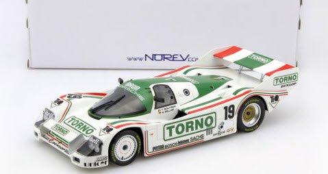 ノレブ 187406 1/18 ポルシェ 962C #19 3rd 1000km ムジェロ 1985 Bellof / Boutsen