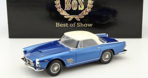 BoS Models BOS303 1/18 マセラティ 3500 GT ツーリング ブルー / ホワイト