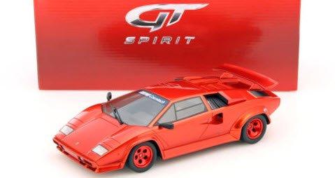 GTスピリット GTS134 1/18 ケーニッヒ スペシャル カウンタック ターボ (レッドメタリック)