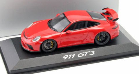 ミニチャンプス WAP0201490H 1/43 ポルシェ (991 II) GT3 Genf 2017 レッド 特注品