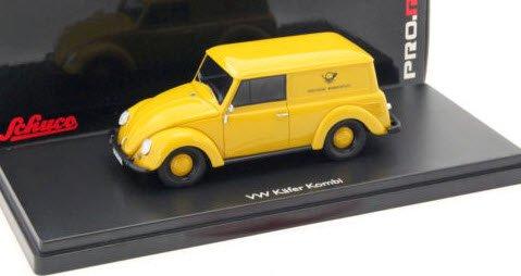 """シュコー 450900800 1/43 VW ビートル """"DBP"""""""