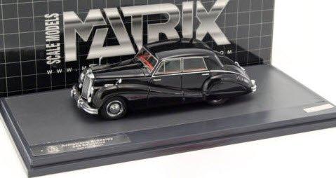 MATRIX MX40107-012 1/43 アームストロング シドレー 346 Sapphire 4-Light Saloon 1953 ブラック