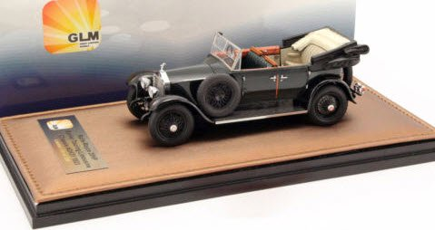Great Lightning Models GLM43204901 1/43 ロールスロイス 20HP Barker Touring リムジン オープン 1923 ダークグリーン