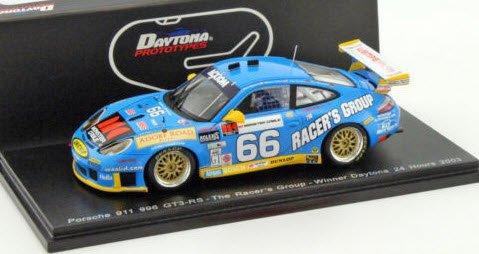 スパーク 43DA03 1/43 Porsche 911 GT3 RS No.66 Winner 24h of Daytona 2003