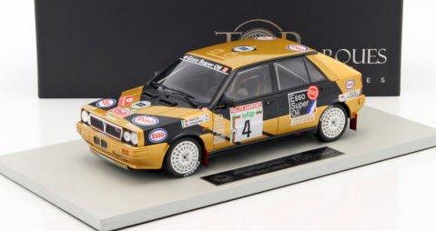 TOPMARQUES TOP024F 1/18 ランチア デルタ HF 4WD 1987 No.4 サンレモ (タバトン)