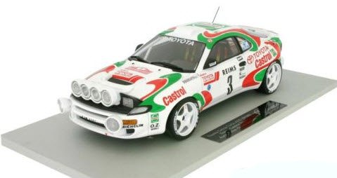 TOPMARQUES TOP034A 1/18 トヨタ セリカ GT-FOUR(ST185) モンテカルロ 1993 ウィナー オリオール No.3