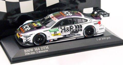 """ミニチャンプス 410162431 1/43 BMW M4 (F82) #31 """"BMW TEAM MTEK"""" TOM・BLOMQVIST DTM 2016"""