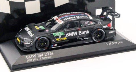 """ミニチャンプス 410162407 1/43 BMW M4 (F82) #7 """"BMW TEAM MTEK"""" BRUNO・SPENGLER DTM 2016"""