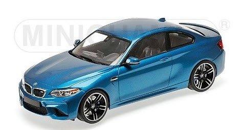 ミニチャンプス 155026101 1/18 BMW M2 クーペ 2016 ブルーメタリック