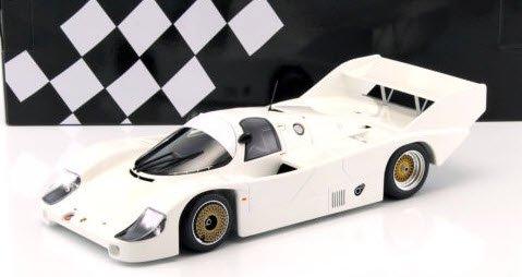 ミニチャンプス 155826600 1/18 ポルシェ 956 K プレーンボディーバージョン ホワイト 1982
