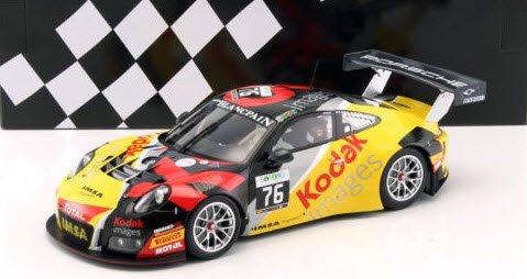 """ミニチャンプス 155166176 1/18 ポルシェ 911 GT3 R #76 """"TEAM IMSA PERFORMANCE"""" PILET/NARAC/JOUSSE 24h ス"""