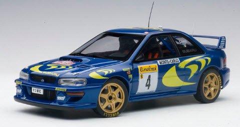 オートアート AUTOart 89791 1/18 スバル インプレッサ WRC 1997 #4 (ピエロ・リアッティ/ファブリツィア・ポンス) ※モンテカルロラリー…