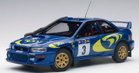オートアート AUTOart 89792 1/18 スバル インプレッサ WRC 1997 #3 (コリン・マクレー/ニッキー・グリスト) サファリラリー…