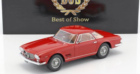 BoS Models BOS304 1/18 マセラティ 5000 GT Allemano 1960 レッド