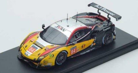ルックスマート LSLM076 1/43 Ferrari 488 GTE No.84 JMW Motorsport Winner LM GTE Am Le Mans 2017