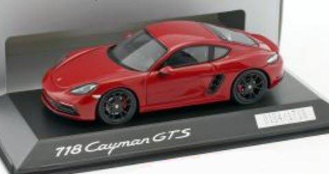 スパーク WAP0204200J 1/43 ポルシェ 718 ケイマン GTS (982) carmine レッド 特注品