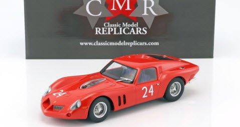 CMR CMR095 1/18 フェラーリ 250 GT Drogo #24 24h ルマン テスト 1963