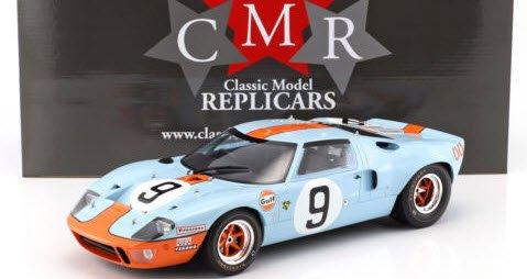 CMR CMR12005 1/12 フォード GT 40 MK I ガルフ #9 ウィナー 24h ルマン 1968 Rodriguez / Bianchi