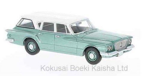 NEO NEO47115 1/43 プリムス ヴァリアント ワゴン 1960 メタリックグリーン / ホワイト