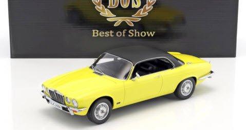 BoS Models BOS299 1/18 ジャガー XJ 4.2C 1974 イエロー/ブラック RHD