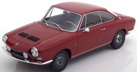 BoS Models BOS210 1/18 シムカ 1200 S ベルトーネ クーペ 1967 ダークレッド
