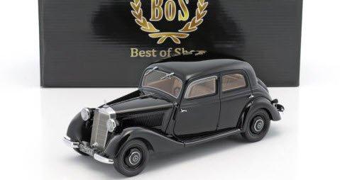 BoS Models BOS346 1/18 メルセデス 170 V 1939 ブラック