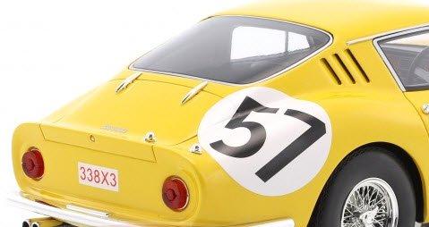 Ferrari 275 GTB #57 10th 24h LeMans 1966 Noblet Dubois 1:18 CMR