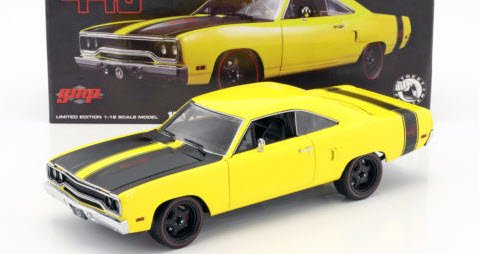 18837 1:18 Scale GMP 1970 Street Fighter Plymouth Road Runner Item ...