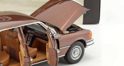 Norev B66040643 Mercedes-Benz 450 SEL 6.9 1976 braun metallic 1:18