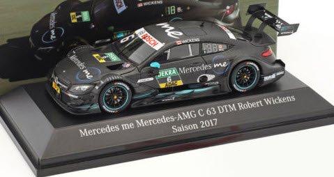 スパーク B66961416 1/43 メルセデス ベンツ AMG C 63 #6 DTM 2017 Robert Wickens メルセデス特注品