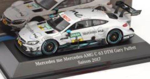 スパーク B66961417 1/43 メルセデス ベンツ AMG C 63 #2 DTM 2017 Gary Paffett メルセデス特注品