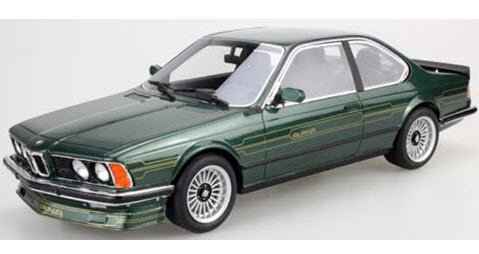 TOPMARQUES Luky Step TOPLS029B 1/18 BMW アルピナ B7 グリーン