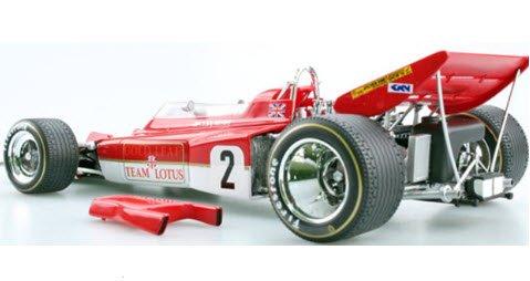 TOPMARQUES GRP013A 1/18 ロータス 72C ゴールドリーフ No,2 1970 ワールドチャンピオン J.リント