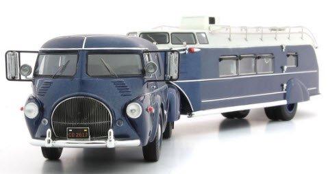 AUTOCULT オートカルト 11009 1/43 Reo Truck / Curtiss Aerocar 1938 ブルーメタリック