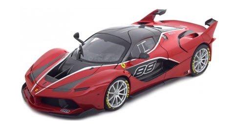 ブラーゴ Bburago 18-16907R 1/18 フェラーリ FXX K No.88(レッド)シグネチャーシリーズ