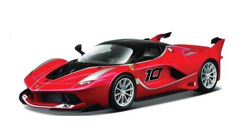ブラーゴ Bburago 18-16905R 1/18 フェラーリ FXX K No.10 (レッド) レース&プレイシリーズ