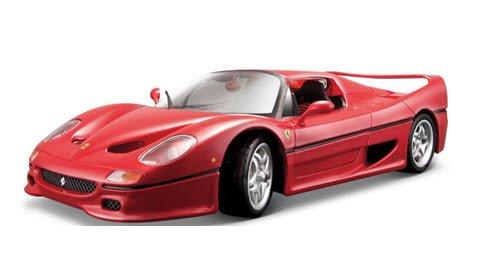 ブラーゴ Bburago 18-16004R 1/18 フェラーリ F50 クローズドトップ(レッド) レース&プレイシリーズ