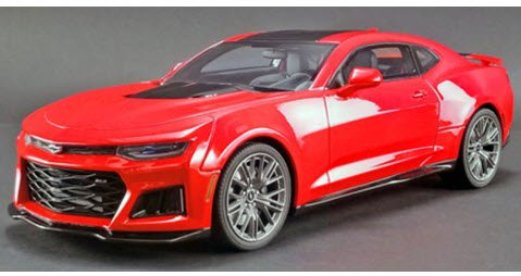 GTスピリット GTS012US 1/18 シボレー カマロ ZL1(レッド)US Exclusive