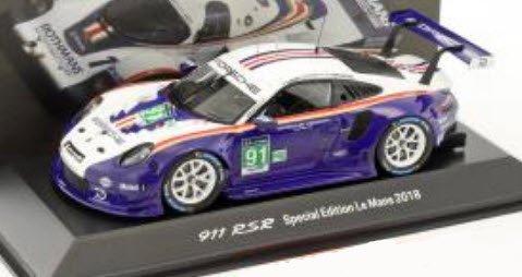 24h le mans 2018 rothmanns tributo 1:43 Spark Porsche 911 rsr #91