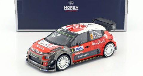 ノレブ 181633 1/18 シトロエン C3 WRC ...