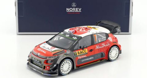ノレブ 181634 1/18 シトロエン C3 WRC ...