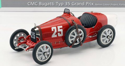 CMC M100B009 1/18 ブガッティ T35, 192...