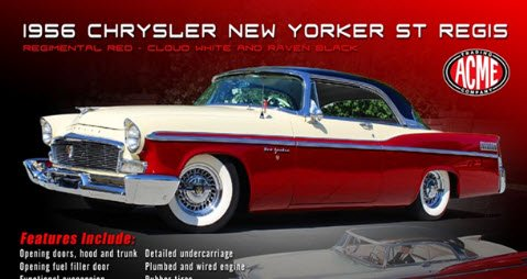ACME A1809001 1/18 1956 CHRYSLER NEW ...