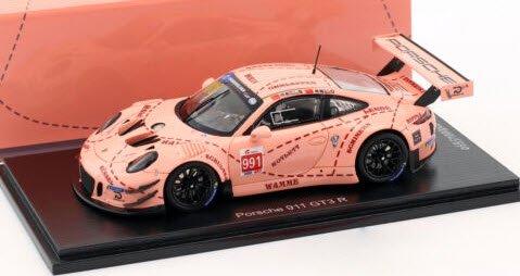 Porsche 911 991 Gt3 R #991 China Gt Championship 2018 Shangai SPARK 1:43 SA176 M