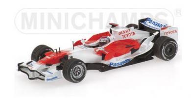 ミニチャンプス 400080081 1/43 パナソニック トヨタ 2008 MINICHAMPS PANASONIC TOYOTA RACING F1 トゥル…