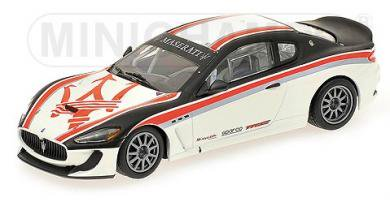 ミニチャンプス 400101201 1/43 マセラティ グラントゥーリズモ MC GT4 テストカー 2010 MINICHAMPS