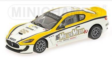 ミニチャンプス 400101216 1/43 マセラティ グラントゥーリズモ MC GT4 TROFEO 2010 MINICHAMPS